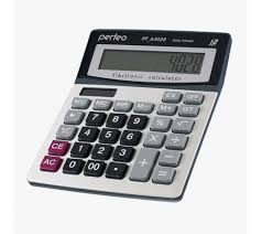Купить <b>Калькулятор PERFEO PF A4028</b> (Бухгалтерский, 12 ...