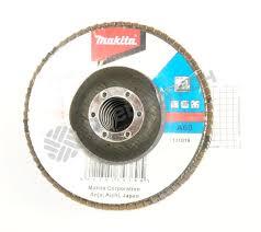 <b>Круг лепестковый торцевой Makita</b> 125 мм x 22 мм, K60 — купить ...