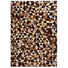Buy Tidyard Hand-Woven <b>Rug Genuine Leather</b> Patchwork Rug ...