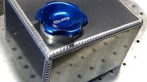 TIG Welding <b>Aluminum</b> Fabrication - Making a small <b>fuel</b> cell (gas <b>tank</b>)