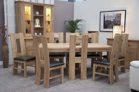 chunky dining table and chairs trendy lifestyle solid oak  x m chunky dining table and  h chairs