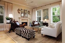 White Chairs For Living Room 17 Zebra Living Room Decor Ideas Pictures