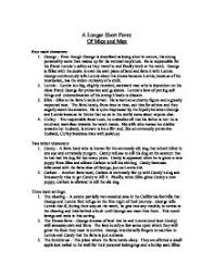 of mice and men essay outline  www gxart orgof mice and men essay outline porza resume created by natureplot outline the events of mice