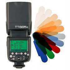 <b>Вспышка Godox TT685N</b> для Nikon + ПОДАРОК цветные фильтры!