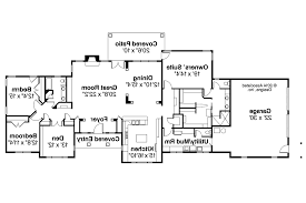 Ranch House Plans   Parkdale     Associated Designs    Ranch House Plan   Parkdale     Floor Plan