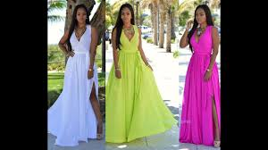 <b>Women Summer</b> Long Maxi <b>BOHO</b> Evening Party Dress Beach ...
