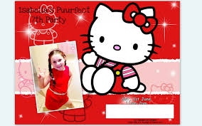 hello kitty th birthday invitation birthday photo shared by bobbye hello kitty th birthday invitation birthday