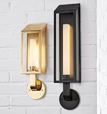 Lombard Lantern Large <b>LED Wall Sconce</b> in 2019 | Wall sconces ...