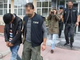 Samsun'da 3 Iraklı DAEŞ üyesi yakalandı