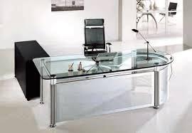 echanting of glass office desk brilliant glass office desk furniture interior design architecture amazing glass office desks
