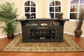 portable design of the mini black mini bar home