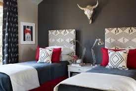 headboard wall in gray becomes the instant focal point in the room design jo bedroom gray walls