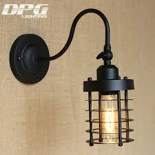 industrial wall sconce vintage led lamp loft antique lights american classic for home indoor bedside up cheap wall sconce lighting