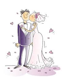 Image result for wedding party cartoons images