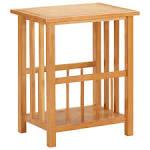 <b>Magazine Table 45x35x55 cm</b> Solid Oak Wood and MDF Sale, Price ...