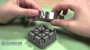 How to Remove Watch Band Screw Links - YouTube