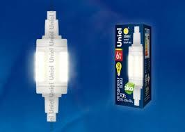 <b>Лампа LED</b>-<b>J78</b>-<b>6W</b>/<b>WW</b>/<b>R7s</b>/<b>CL PLZ06WH Лампа</b> светодиодная ...