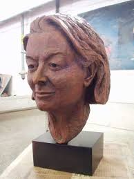 Sculpture: 'Portrait of Sarah Keays(bronze)' by sculptor Philip Thompson in Portrait Sculptures / Commission Sculptures - ArtParkS Sculpture Park ... - artpark_sculpture_philip_thompson_portrait_of_sarah_keays_1