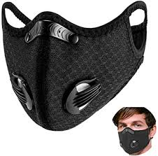 Cycling Face <b>Mask</b> with Activated Carbon Filters Windproof <b>Dust</b> ...