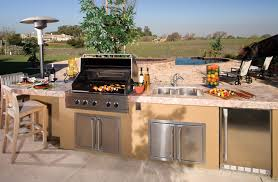 Countertop For Outdoor Kitchen 24 Outdoor Kitchen Design For Make An Amazing Backyard Horrible Home