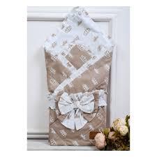 <b>Одеяло</b>-конверт на <b>выписку AmaroBaby</b> HAPPY, Короны ...