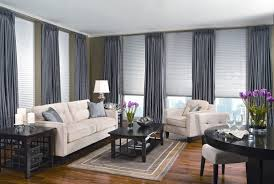 Large Kitchen Window Treatment Window Treatment Ideas For Large Windows Large Bay Window