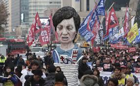 Image result for president park south korea impeachment