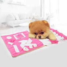 Pet Slow Food Puzzle Training Blanket Toy Mat Sale, Price & Reviews