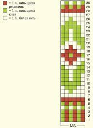 Мужские <b>носки с жаккардовым</b> рисунком - схема вязания спицами ...