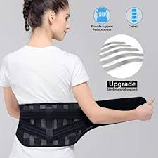 JCHL Lumbar Support Back Brace Lower Back Brace ... - Amazon.com