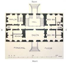 The History of Coleshill HouseGround floor plans of Coleshill House