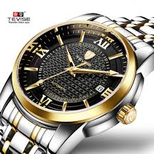 <b>Luxury Brand TEVISE Business</b> Men Watch Calendar Automatic ...
