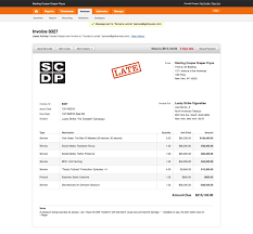 online invoicing archives page of harvest harvest example invoice
