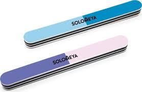 Маникюрная <b>пилка</b> Solomeya, <b>трехсторонняя</b>, 240/320/800 грит ...