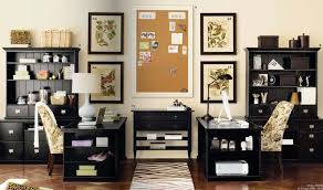 office medium size exciting design ideas of cute home office with black wooden tables storage shelvrs chic designer desk home