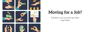 cost of living calculator cost of living comparision calculator moving for a job cost of living salary