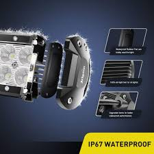 Nilight Led Light Bar <b>2PCS</b> 6.5Inch 36w Flood LED Super <b>Bright</b> Off ...