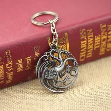 Targaryen Silver Key Chains Sale, Price & Reviews | Gearbest