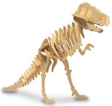 <b>3D Wooden Dinosaur</b> Kits, Assorted - Kidstuff
