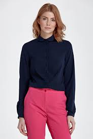 Купить <b>NIFE</b> B79 <b>блузка</b> темно-синяя в Москве, продажа женских ...