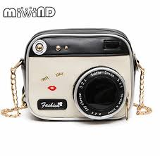 <b>MIWIND Small bags</b> 2018 girl vintage fashion lady camera shoulder ...