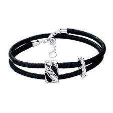 SA SILVERAGE 925 Sterling Silver Vintage Bracelets ... - Amazon.com