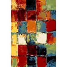 Прямоугольный <b>ковёр Crystal 2739</b>, 80 х 150 см, цвет <b>multicolor</b> ...