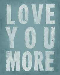 Love You More (sea breeze), <b>removable</b> wall decal - <b>Keep Calm</b> ...