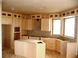 beech wood kitchen cabinets: honey pine shaker of unfinished kitchen cabinet doors