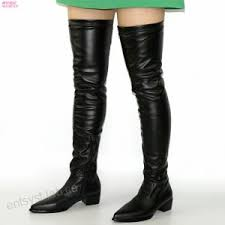 <b>NAYIDUYUN</b> Thigh High Boots Women Pointed Toe Over The Knee ...