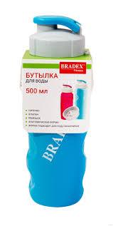 """<b>Бутылка</b> для воды """"<b>Ивиа</b>"""" (500 мл; голубая) <b>BRADEX</b> : купить в ..."""