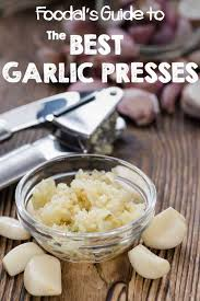 The Best <b>Garlic Presses</b>: The Top 8 Reviewed in 2019 | Foodal