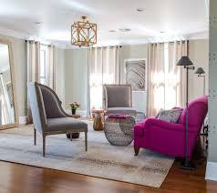 room contemporary purple furniture gray