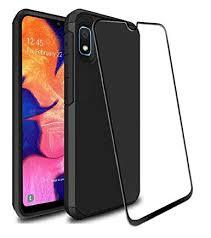 Galaxy A10e Case with 9H Tempered Glass Screen ... - Amazon.com